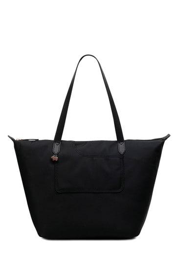 Radley Black Pocket Essentials Large Shoulder Zip Top