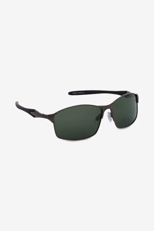 Gunmetal Polarised Sunglasses