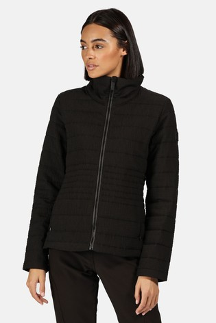 Regatta Black Lustel Baffle Jacket