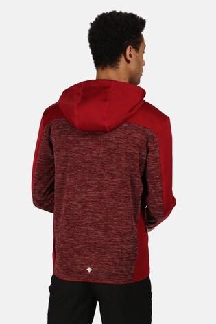 Regatta Red Cadford Full Zip Hooded Fleece