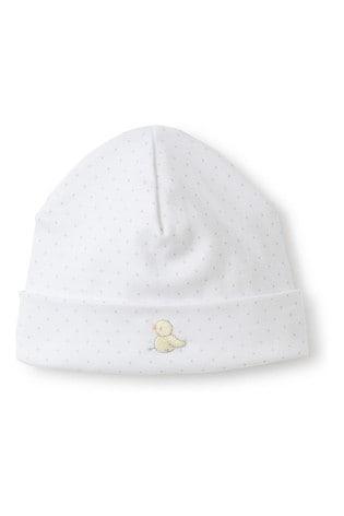 Kissy Kissy White Hatchling Hat