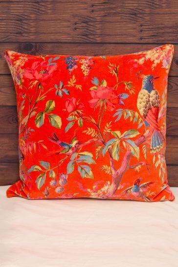 Paradise Velvet Cushion by Riva Home