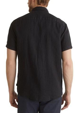 Esprit Black Short Sleeve Linen Shirt