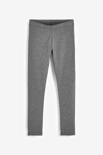 Charcoal Longer Length 1 Pack Leggings (3-16yrs)