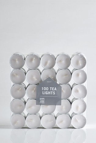 100 Tealight Candles