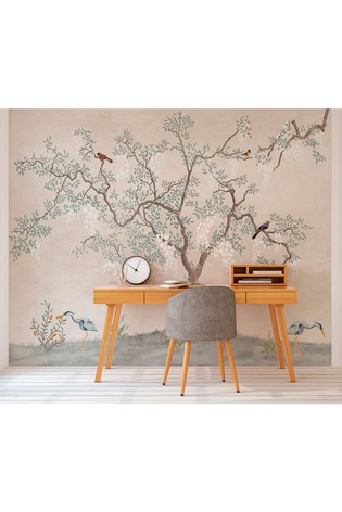 Buy Exclusive To Next Oriental Tree Wall Mural By Eighty Two From The Fitforhealth Online Shop