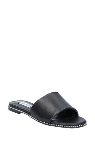Steve Madden Black Satisfy Sandals