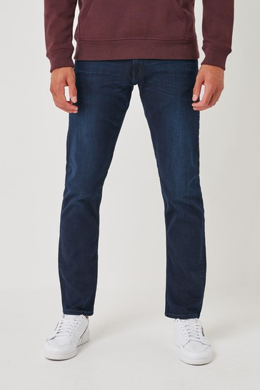 Replay Mens Grover Straight Fit Jeans