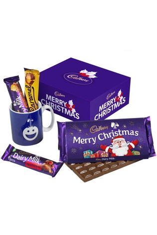 Cadbury Merry Christmas Chocolate And Mug Set