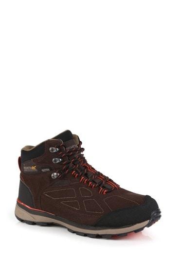 Regatta Brown Samaris Suede Walking Boots