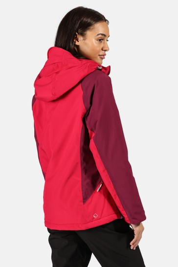 Regatta Pink Womens Highton Stretch Padded Waterproof Jacket