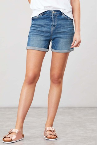Joules Light Denim Shirley Shorts