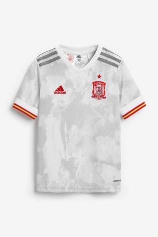 adidas Spain Away Football Kids Mini Kit