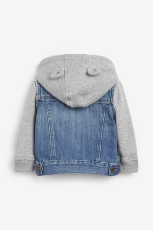 Gap Baby Denim Hooded Jacket