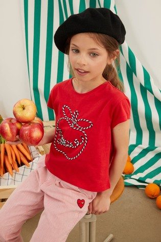Sonia Rykiel Paris Embroidered Logo T-Shirt