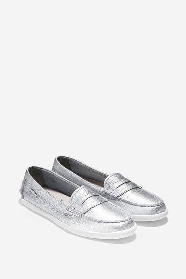 Cole Haan Grey Pinch Weekender Loafers