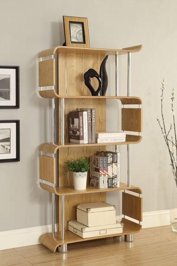 Helsinki Bookshelf Oak by Jual