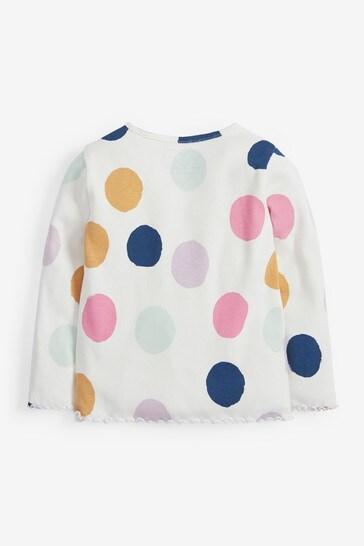 Bright Spot Long Sleeve Rib T-Shirt (3mths-8yrs)