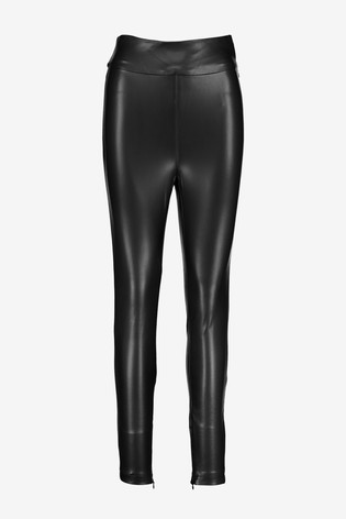 Guess Black PU Leggings