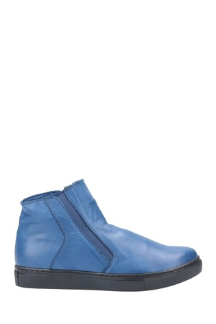 Riva Blue Elif Ankle Boots