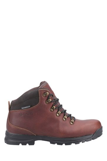Cotswold Burgundy Red Kingsway Lace-Up Hiking Boots