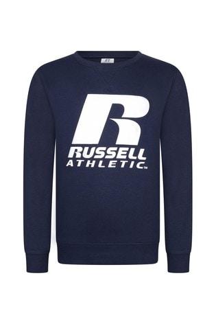 Russell Athletic Logo Crew Sweatshirt