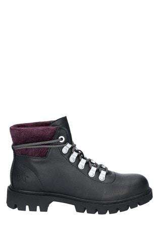CAT® Lifestyle Black Handshake Ankle Boots