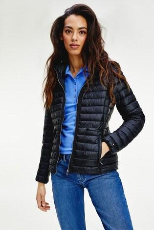 Tommy Hilfiger Black Jade Lightweight Eco Fill Jacket