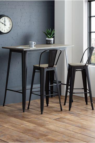 Grafton Bar Table By Julian Bowen