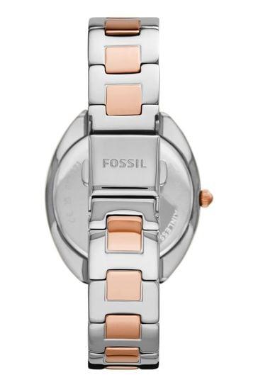 Fossil 2 Tone Gabby Watch