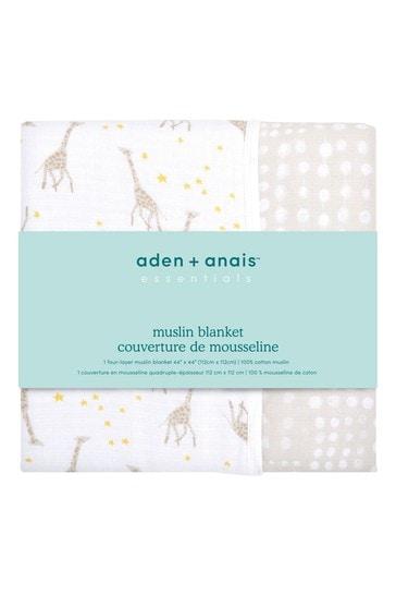 aden + anais Starry Star Essentials Muslin Dream Blankets Four Pack