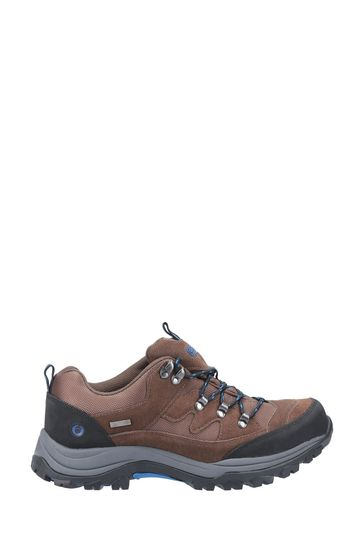 Cotswold Brown Oxerton Low Hiker Boots