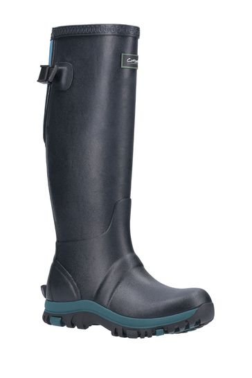 Cotswold Green Realm Adjustable Wellington Boots
