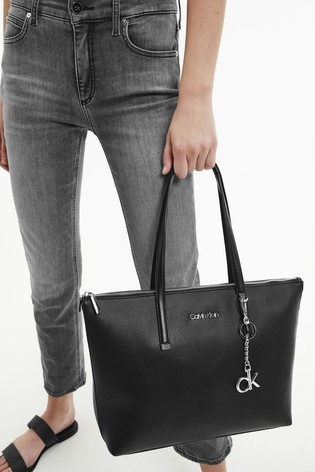 Calvin Klein Black Medium Shopper