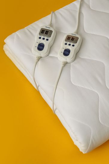 Multi Zone Heated And Quilted Mattress Topper by Silentnight