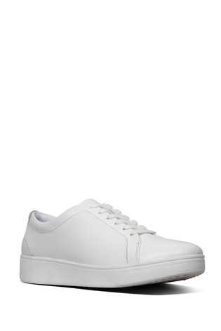 FitFlop™ White Rally Sneakers