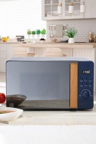 Daewoo 800W Wooden Handle Digital Microwave