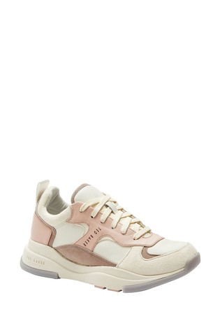 Ted Baker Nude Chunky Trainers