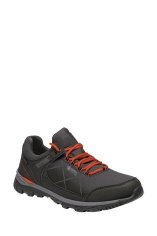 Regatta Black Highton Stretch Walking Shoes