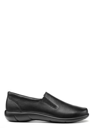 Hotter Glove Wide Fit Slip-On Trouser Shoes