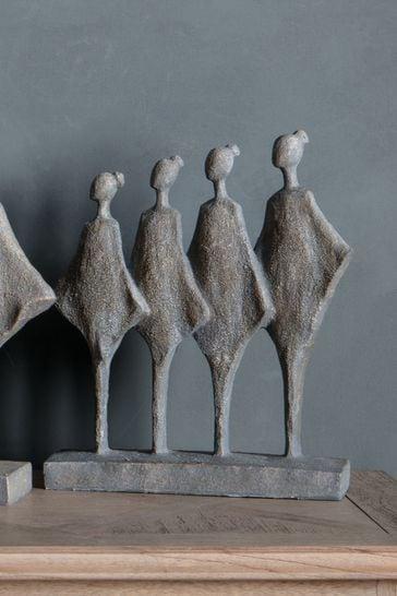Gallery Direct Standing Grey Figures