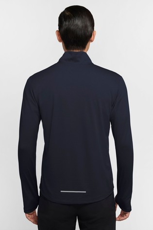 Nike Blue Pacer 1/2 Zip Running Top