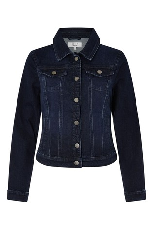 Monsoon Blue Dark Wash Denim Jacket