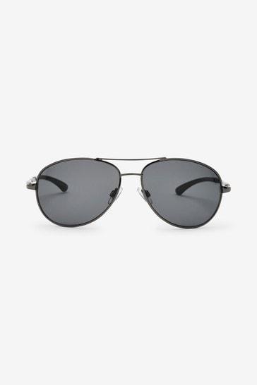 Gunmetal Sunglasses