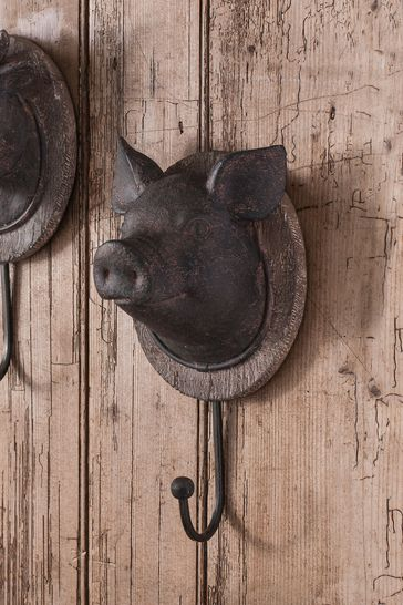 Pig Head Hook by Gallery Direct