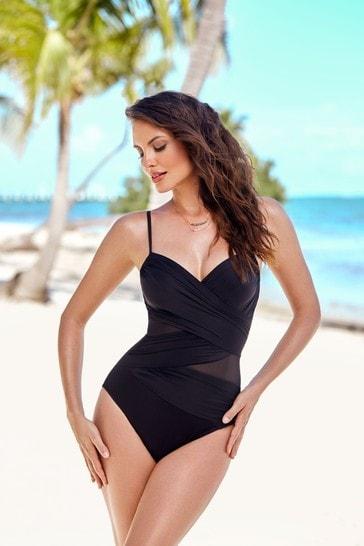Miraclesuit Black Mystify Swimsuit