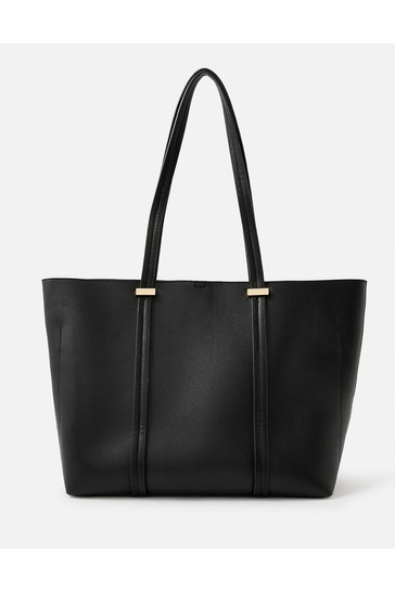 Accessorize Black Ali Tote Bag