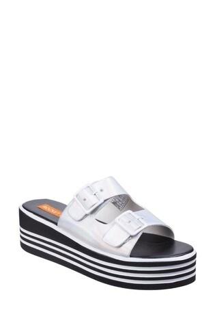 Rocket Dog White Zanter Spree Platform Sandals