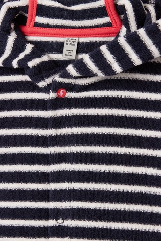 Joules Blue Rockpooler Towelling Cover-Up
