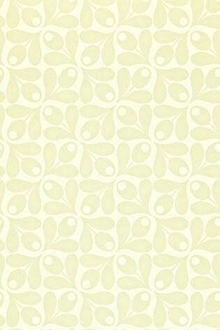 Orla Kiely Sand Small Acorn Cup Wallpaper